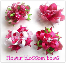 flower bow 714 best bows flowers hair accessories images on