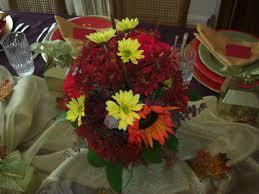 utah county mom thanksgiving fresh flower centerpiece