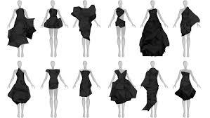 design dress continuum fashion n12