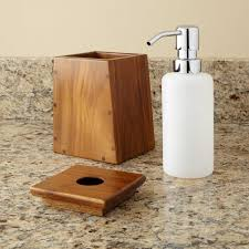 5 Piece Bathroom Set by Teak 3 Piece Bathroom Set Bathroom