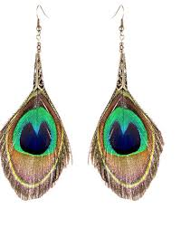 peacock feather earrings peacock feather earrings jewelry design t shirt maluna