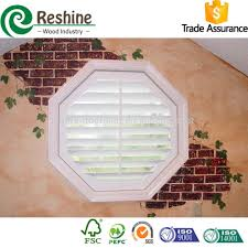 octagon window shutters business for curtains decoration