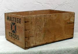 wooden maltese cross maltese cross brand wood fruit crate collectors weekly