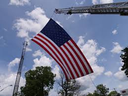 Garrison Flag Size Live Blog Funeral Service For Lt Aaron Allan Local News 13