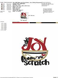 kitchen towel embroidery design make joy from scratch 4x4 5x7