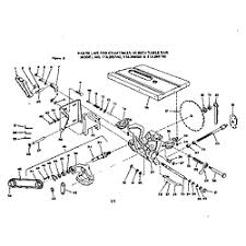 craftsman table saw parts model 113 craftsman model 113298150 saw table genuine parts