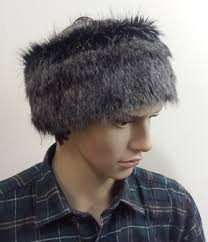 headbands for men men mens faux fur headbands faux fur throws fabric and fashion