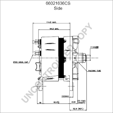 66021636cs alternator product details prestolite leece neville