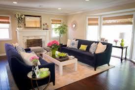 navy sofa living room georgette westerman interiors
