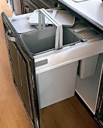 poubelle recyclage cuisine poubelle de cuisine encastrée le sagne cuisines