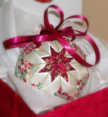 338 best quilted ornaments images on crafts