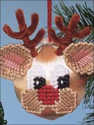 plastic canvas special occasions ornaments teddy