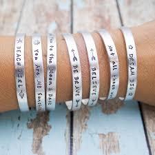 personalized cuff bracelet personalized cuff bracelet