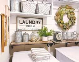 Laundry Room Decor Modern Farmhouse Laundry Room Decor Ideas
