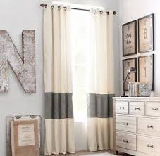 Purple And Cream Striped Curtains Wide Striped Curtains Foter
