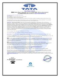 Send Me Your Resume Call Letter Blog Post By Mr Ramesh Mehta Hr At Tata Motor