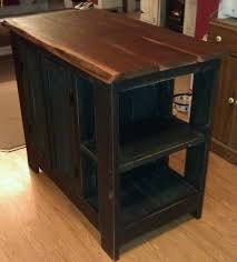 pallet kitchen island custom kitchen island made with reclaimed barn material pallet