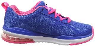 skechers girls skech air infinity blue pink trainers 100