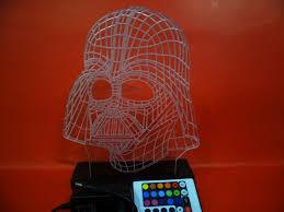 Lego Darth Vader Led Desk Lamp Darth Vader Color Changing Lamp Dudeiwantthat Com