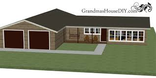 Little House Plans Free Free House Plan With A Great Back Deck And A Deluxe Master