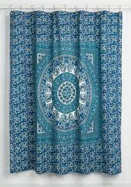 Paisley Shower Curtain Blue by Glow It All To You Shower Curtain The Lively Quality Of This
