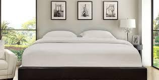 repose padded platform bed haikudesigns com
