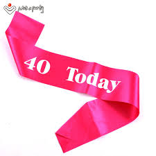 happy birthday sash 3pcs event party supplies birthday decoration happy birthday sash