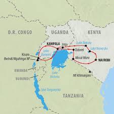 Uganda Africa Map by Uganda Tours And Mountain Gorilla Trekking On The Go Tours