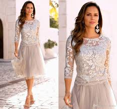 of the dresses of the groom dresses plus size lace tea length