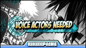 Seeking Voice Sasuke Shippuden Seeking Voice Actors Read Description