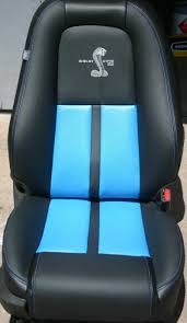 tiffany blue mustang 2010 2014 mustang leather upholstery kits with logos free shipping