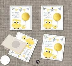 baby shower owl gift tags for eos lip balm instant download