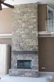 61 best beautiful fireplaces images on pinterest fireplace cobble stone veneer is ideal for large fireplaces this stone looks best when installed using