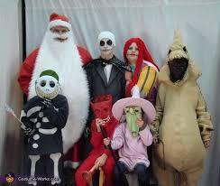 Jack Skellington Halloween Costume Nightmare Christmas Family Costumes Halloween Costume