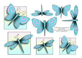 crafticious u0027butterflies u0026 dragonflies u0027 free decoupage sheet