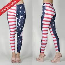 American Flag Jeans Weathered Print Women American Flag Super Woman Hero Leggings