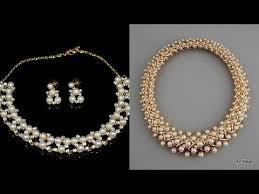 gold pearl necklace sets images Designer gold pearl necklace chains designs latest pearl jewelry jpg