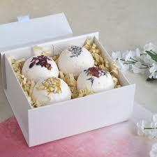 luxury bath luxury bath bomb gift set by lovely soap company