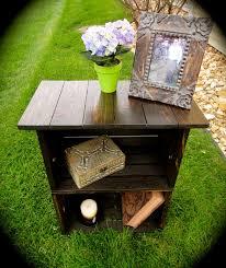 Wooden Crate Nightstand Custom Milk Crate Nightstand U2026 Pinteres U2026