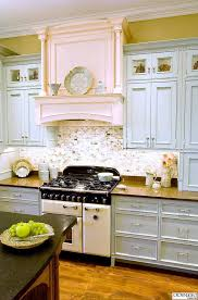 blue kitchen cabinets with granite countertops kitchen cabinet paint color with gorgeous blue for