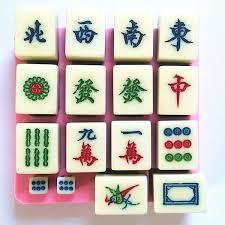 mahjong ustensile de cuisine vent mahjong bricolage biscuits au sucre gâteau au chocolat moule de