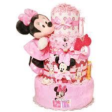 minnie mouse diaper cake 178 00 diaper cakes mall unique