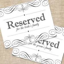 reserved signs for wedding tables found on weddingbee com share your inspiration today for the home