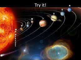sun moon and planets slideshow