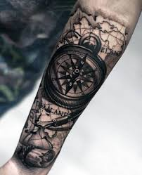 tattoo compass realistic 20 compass tattoos on forearm