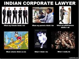 Meme Lawyer - friday fun what people think indian lawyers do versus what they