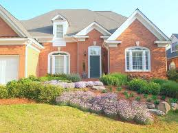 Landscaping For Curb Appeal - home u0026 garden design works with house style to create impressive