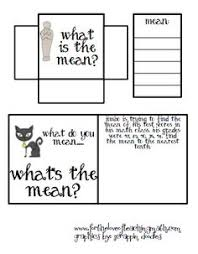 finding the mean median mode and range math in the classroom