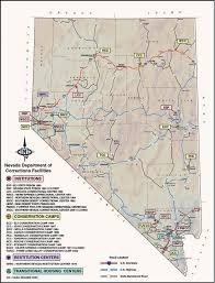 map of nevada facilities nevada department of corrections