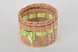 home design gift ideas madeheart u003e handmade decorative paper basket woven newspaper